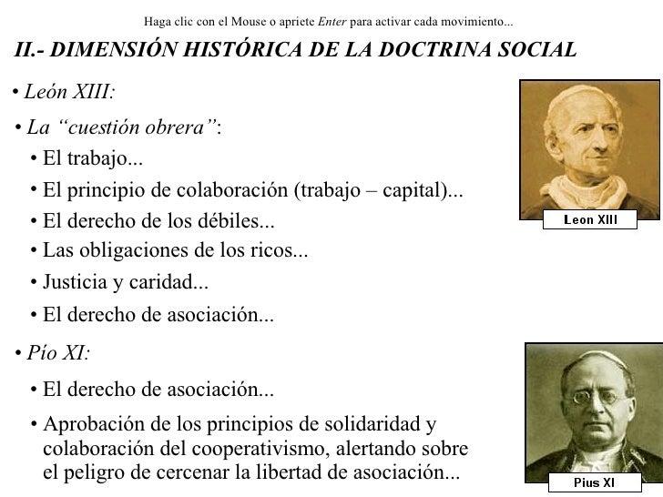 """<ul><li>León XIII: </li></ul><ul><li>La """"cuestión obrera"""" : </li></ul><ul><li>El trabajo... </li></ul><ul><li>El principio..."""
