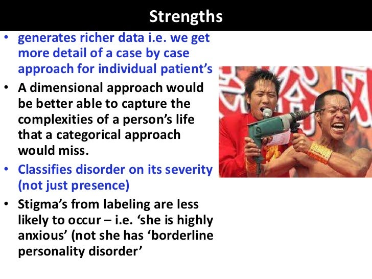 Strengths• generates richer data i.e. we get  more detail of a case by case  approach for individual patient's• A dimensio...