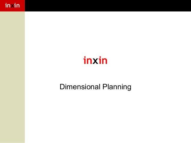 inxin  inxin Dimensional Planning