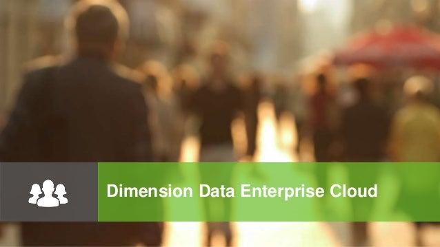 Dimension Data Enterprise Cloud