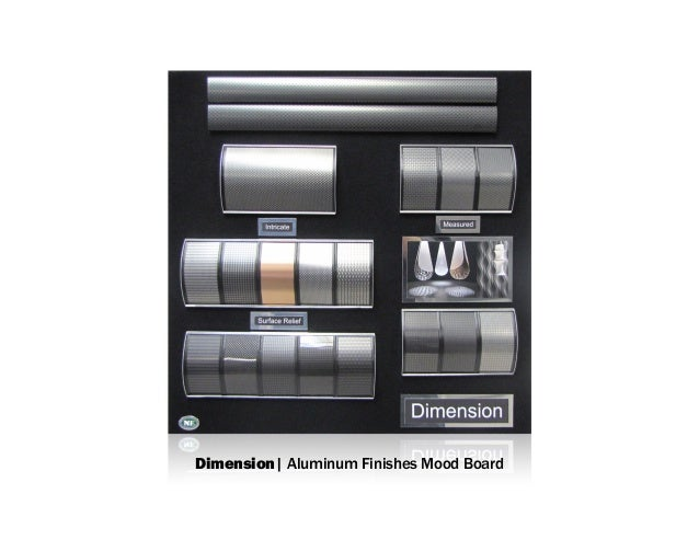Dimension| Aluminum Finishes Mood Board