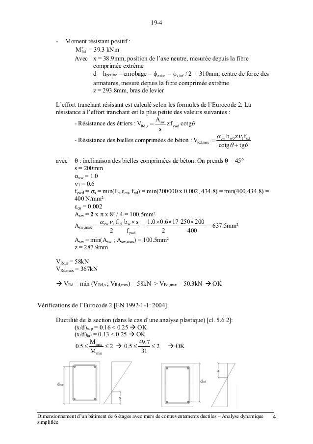 EFFORT TRANCHANT EURO CODE 2 PDF DOWNLOAD