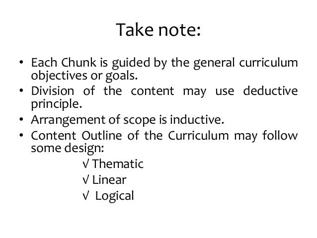 dimensions and principles of curriculum design Dimensions and principles of curriculum design - download as word doc (doc / docx), pdf file (pdf), text file (txt) or read online.