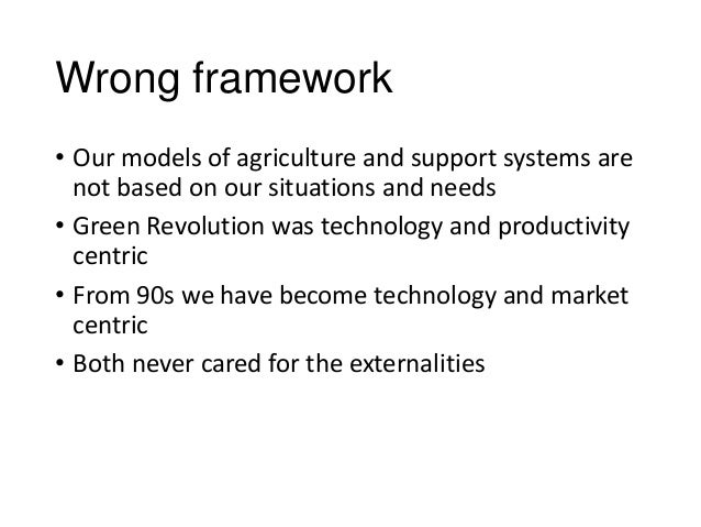Dimensions of agrarian crisis and underlying policies Slide 3