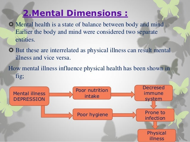 Dimensions of health