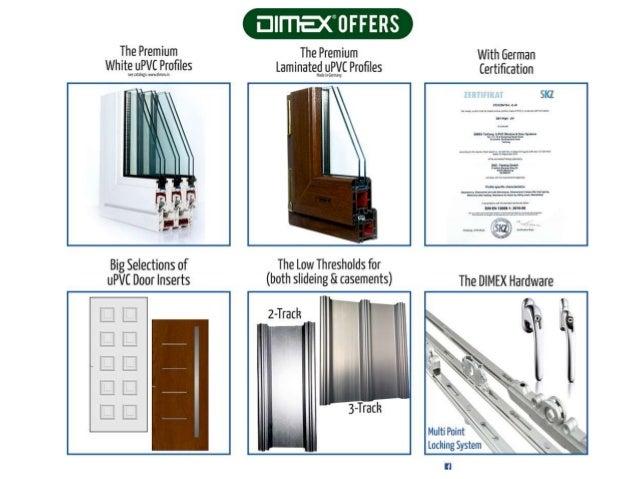 Dimex German uPVC Windows & Doors Systems
