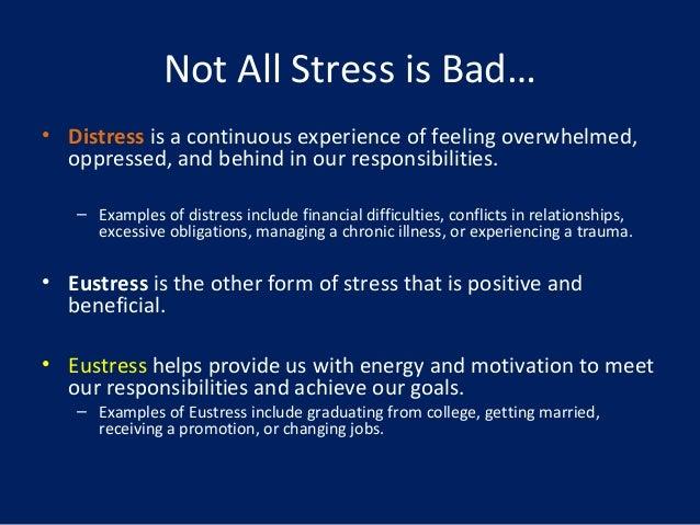 eustress and distress relationship goals