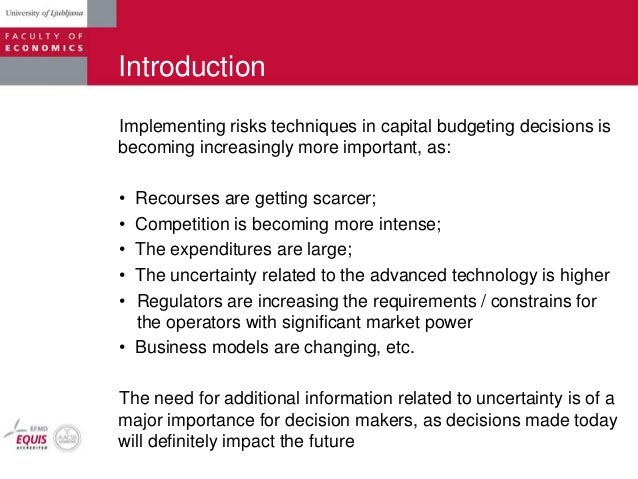 capital budgeting thesis Phd thesis on capital budgeting oct 06, 2014 capital budgeting practices-thesis[1] – download as pdf file (pdf), text whereas almost 70 per cent of the european cfos.
