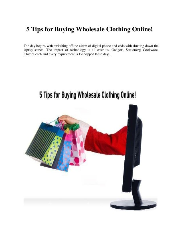 Buying cheap clothes online