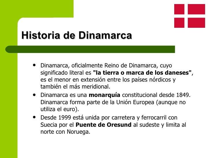 historia Dinamarca