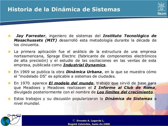 Historia de la Dinámica de Sistemas                                                                                     it...