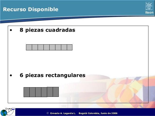 Recurso Disponible                                                                                  itson  •   8 piezas cu...