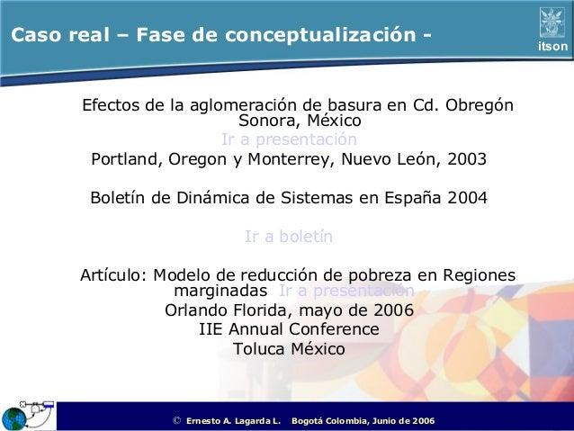 Caso real – Fase de conceptualización -                                                               itson      Efectos d...