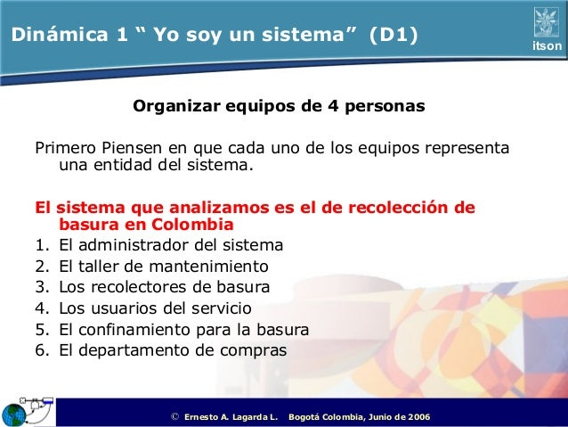 "Dinámica 1 "" Yo soy un sistema"" (D1)                                                                   itson             O..."