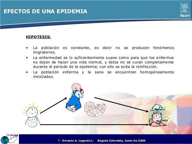 EFECTOS DE UNA EPIDEMIA                                                                                                   ...