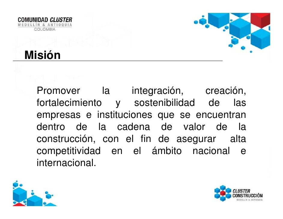 Cluster construcci n medell n y antioquia for Empresas de construccion en bogota