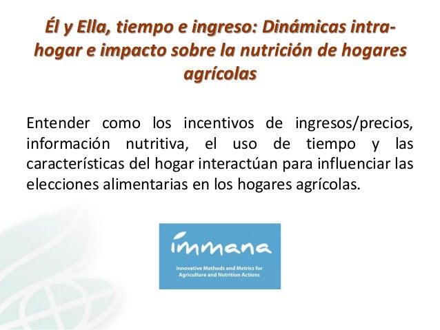 El rol de los padres en la nutrición del hogar Slide 3