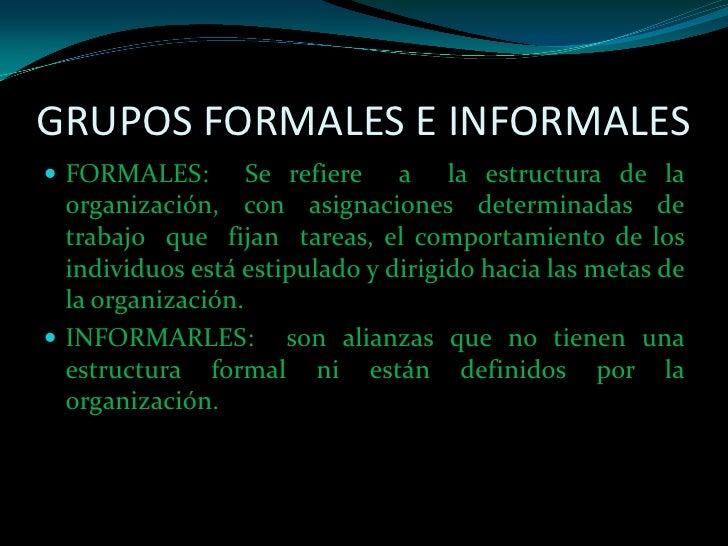 Dinamicas De Grupo Organizacional