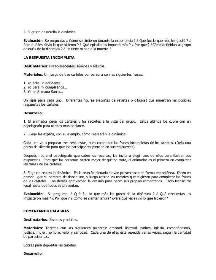 Pastoral Juvenil Vocacional Y Misionera                                               PARROQUIA SAN ANTONIO DE PADUA.GRAL....