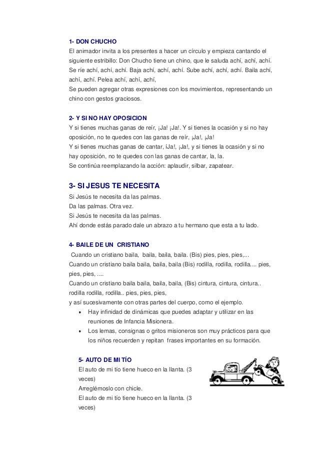 Dinamicas Y Juegos Para Ninos 2013