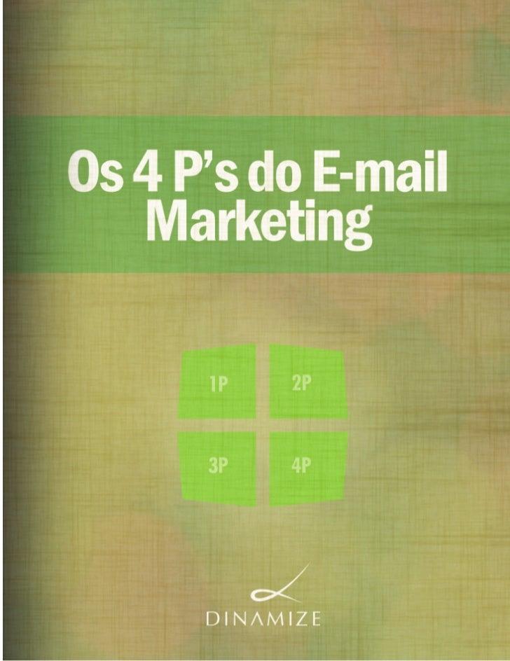 Dinamize - Os 4ps do e-mail Marketing