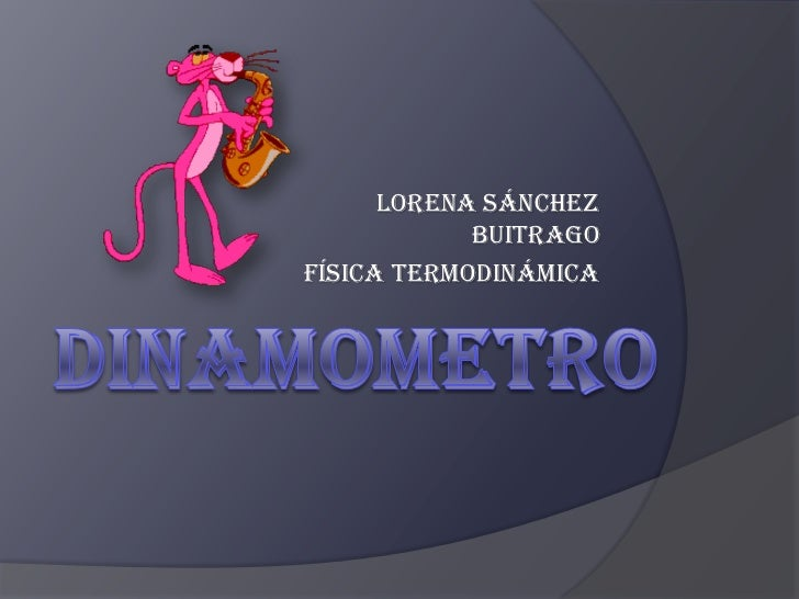 Lorena Sánchez            BuitragoFísica Termodinámica