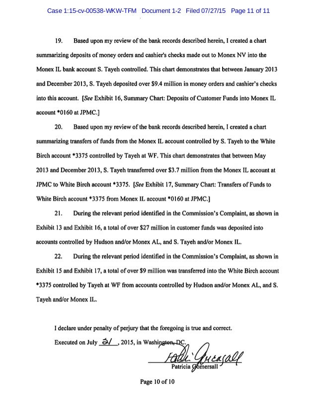 IN THE UNITED STATES DISTRICT COURT NORTHERN DISTRICT OF GEORGIA ATLANTA DIVISION DINAR CORP, INC., a Nevada corporation; ...