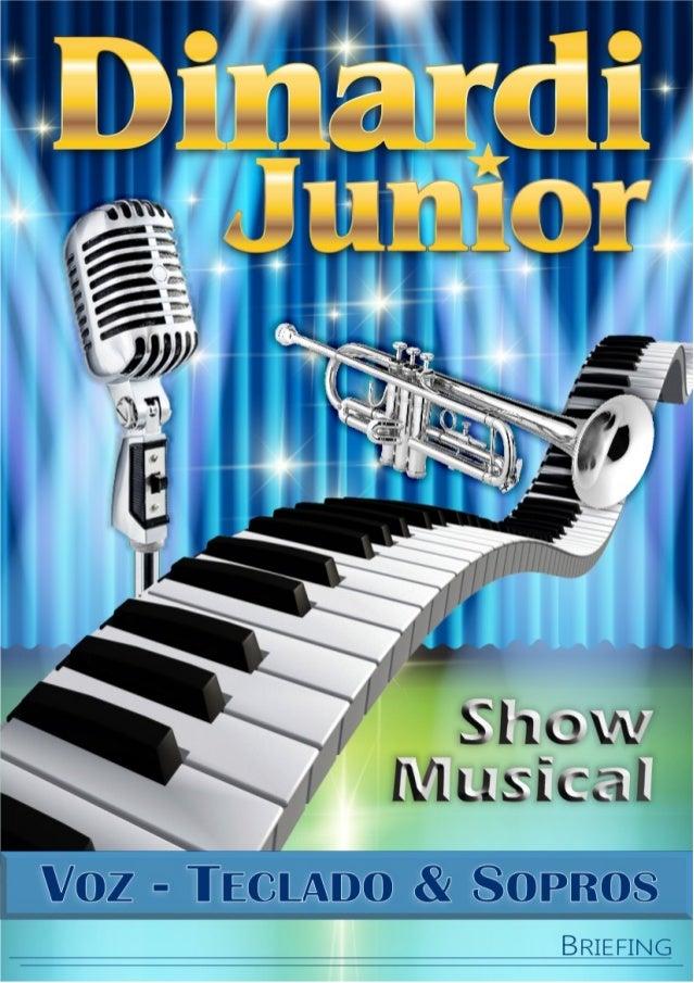 Show Musical São Paulo - Dinardi Junior