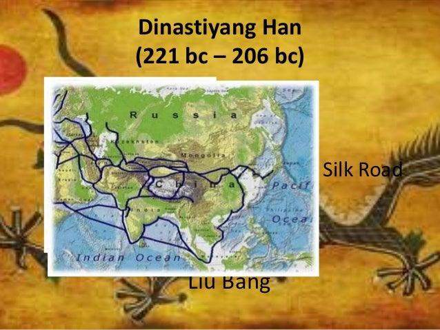 Dinastiyang Han (221 bc – 206 bc) Liu Bang Wudi Silk Road