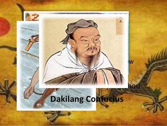 Mapa ng Dinastiyang Zhou Crossbow Dakilang Confucius