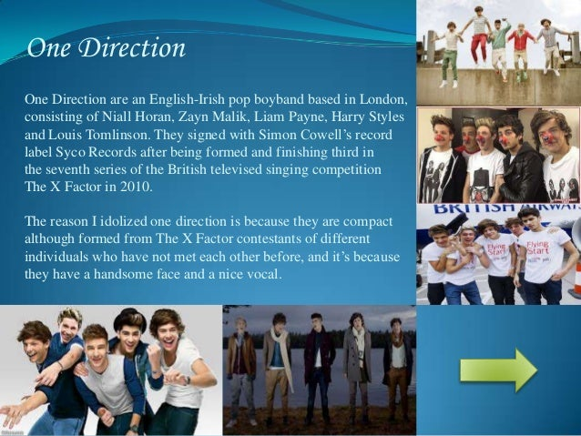 Essay on one direction