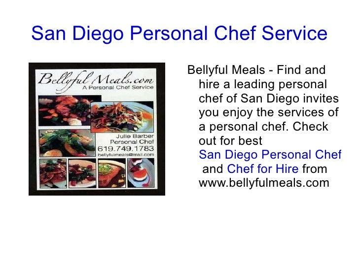 San Diego Personal Chef