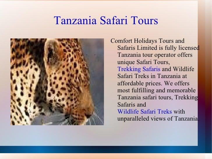 Safari in Tanzania Slide 3
