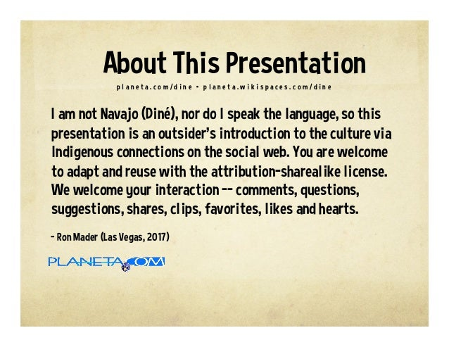 Learning the Navajo Language #DinéBizaad Slide 2