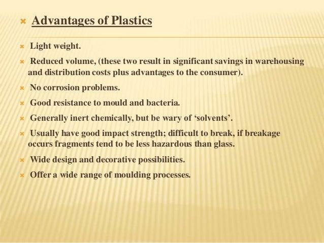 Advantages and Dis-advantages of Plastics