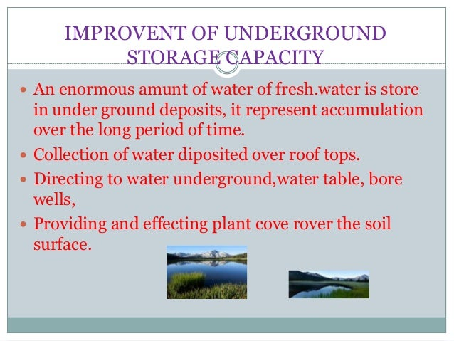 Dinkars Water Conservation Is The Need Of Day Presentation