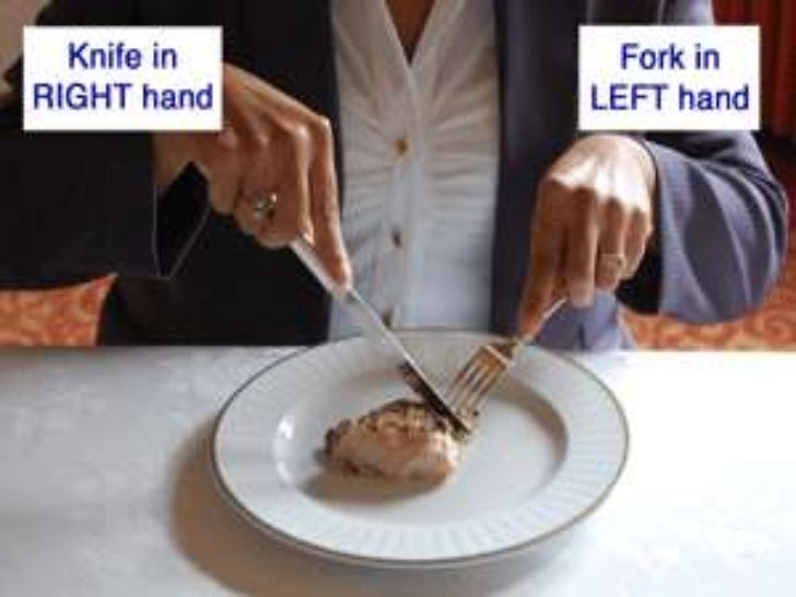 Dining etiquette for Cuisine you eat with your hands