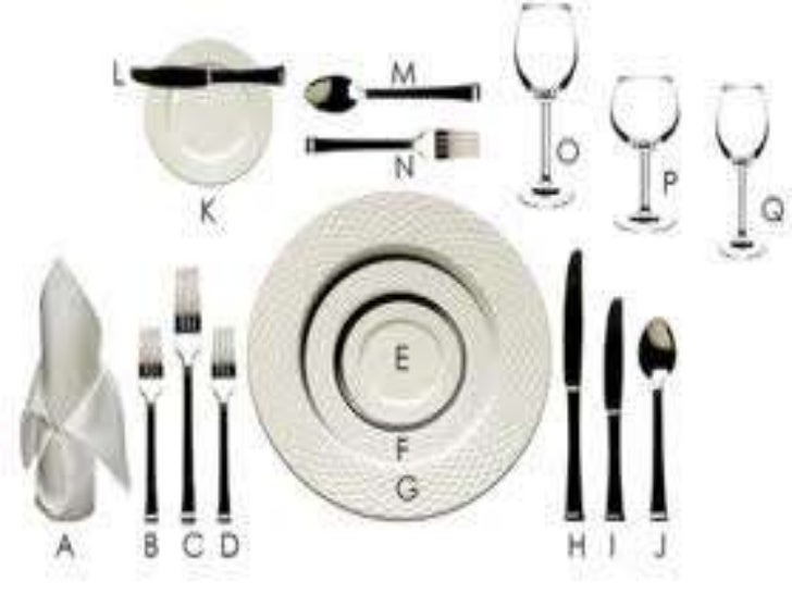 28 29 30 TABLE SETTING