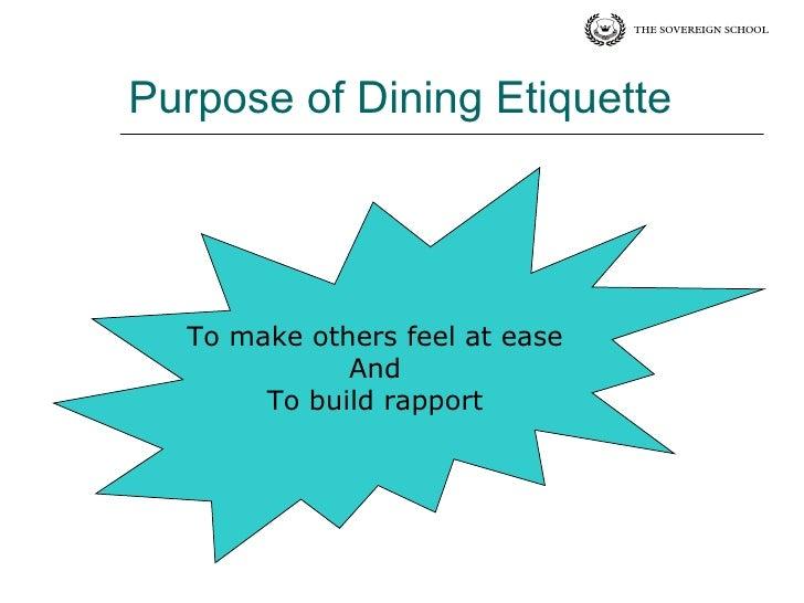 Dining Etiquettes The Sovereign School Rohini Delhi : dining etiquettes the sovereign school rohini delhi 3 728 from www.slideshare.net size 728 x 546 jpeg 49kB