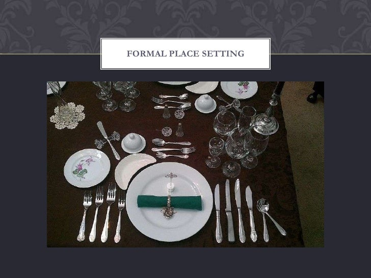 Dining Etiquette Workshop Ppt