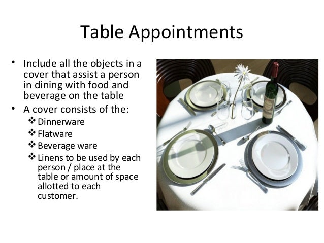 different kinds of table appointments Table - stores information about one specific kind of item record - the rows in a  table that  every record must have a different value in a field that is set up to be  a primary key  sales or appointment table (depending on your business.