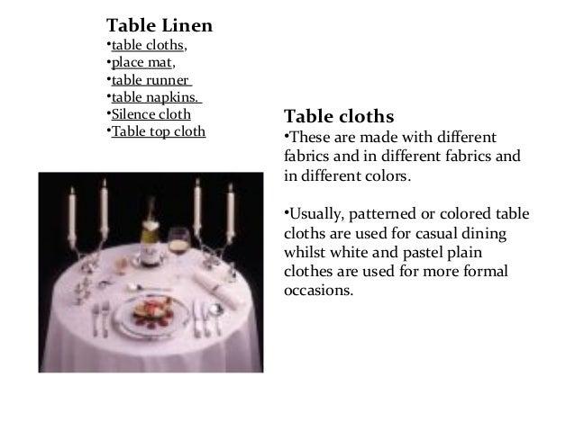 Dining Room Presentation