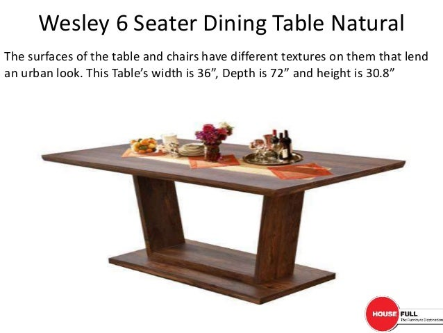 ... Seater Dining Table Designs At Affordable Rates In India. 2.
