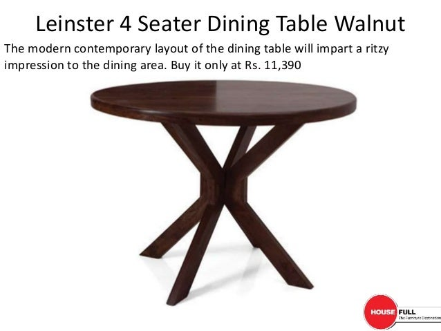 Buy dining table online in india at for Dining table online buy