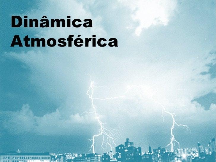 Dinâmica Atmosférica