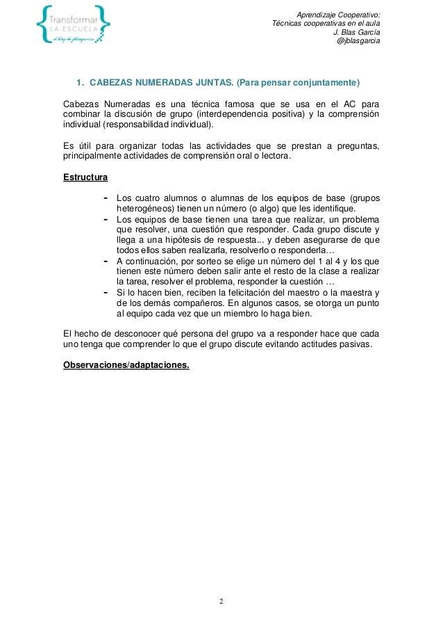 EL TRABAJO EN EQUIPO COMO RECURSO PARA APRENDER Slide 2