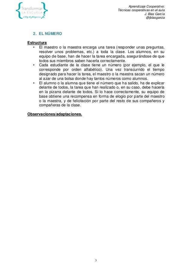EL TRABAJO EN EQUIPO COMO RECURSO PARA APRENDER Slide 3