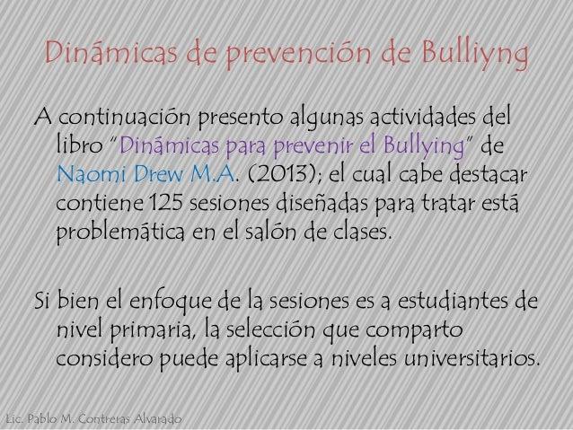 Din micas y actividades para prevenir bullying for Actividades para el salon