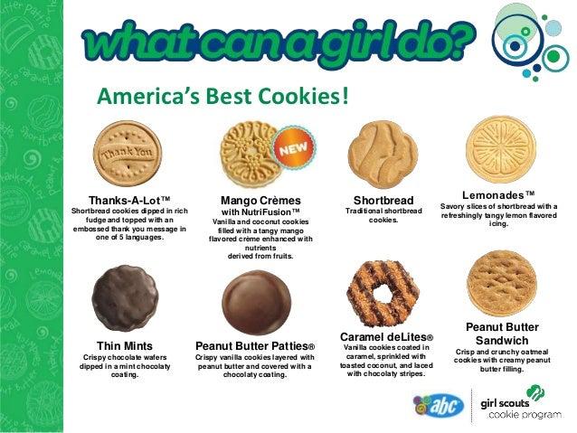 cookie dinner presentation 2013