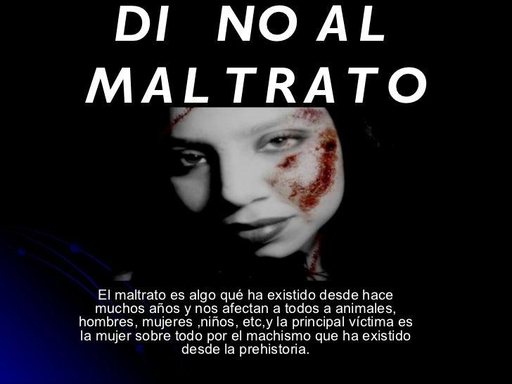 Maltrato Psicologico A Las Mujeres